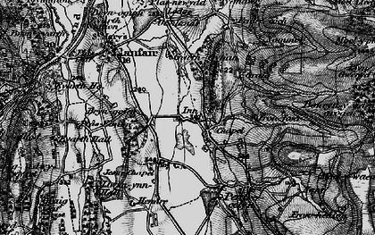 Old map of Graig-fechan in 1897