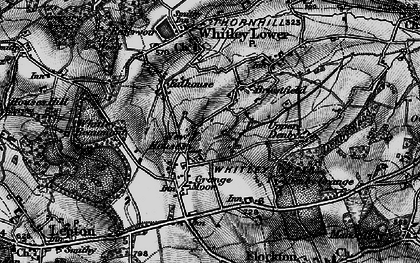 Old map of Whitley Park in 1896
