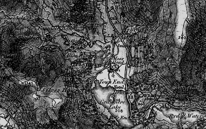 Old map of Grasmere in 1897