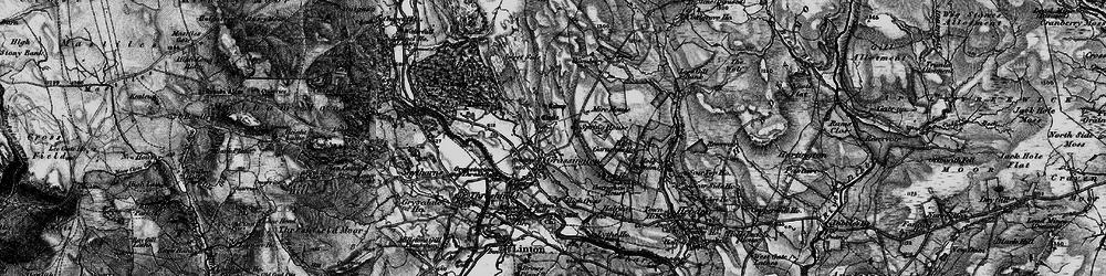 Old map of Yarnbury in 1898