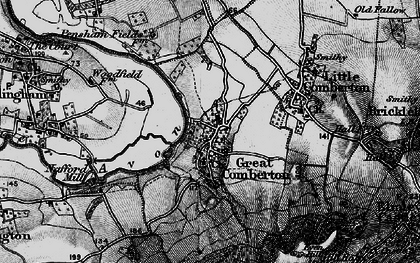 Old map of Banbury Stone in 1898