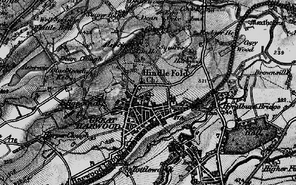Old map of Allsprings in 1896