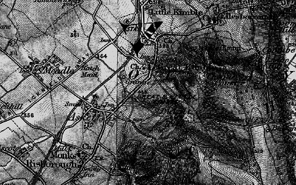Old map of Great Kimble in 1895