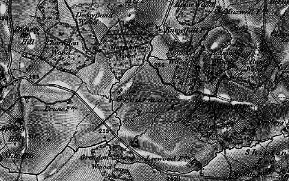 Old map of Balmore Wood in 1896