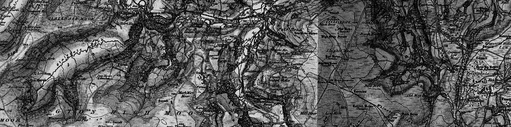 Old map of Beck Hole in 1898