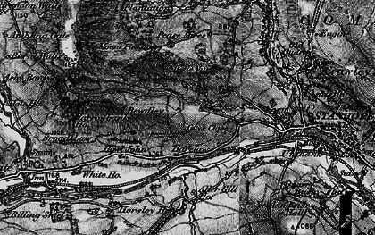 Old map of Aller Gill in 1898