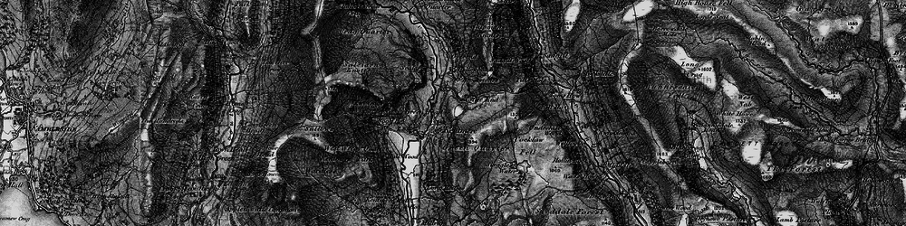 Old map of Withered Howe in 1897