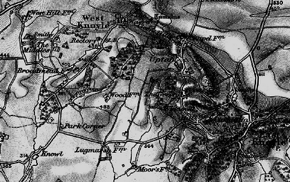 Old map of Green, The in 1898