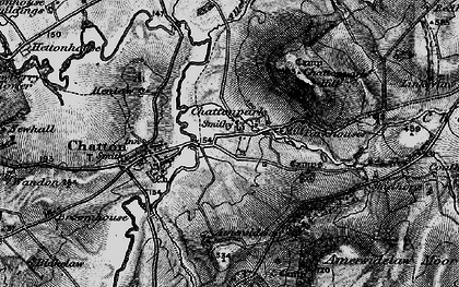 Old map of Amersidelaw Moor in 1897