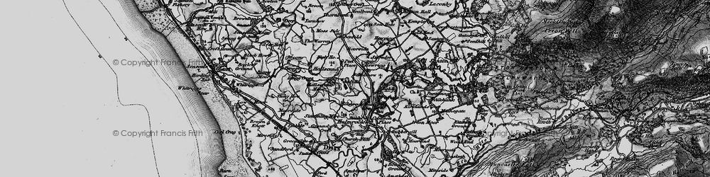 Old map of Addy Ho in 1897