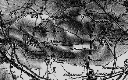 Old map of Greenmeadow in 1896