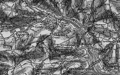 Old map of Greenwith Common in 1895