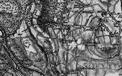 Old map of Grenoside in 1896
