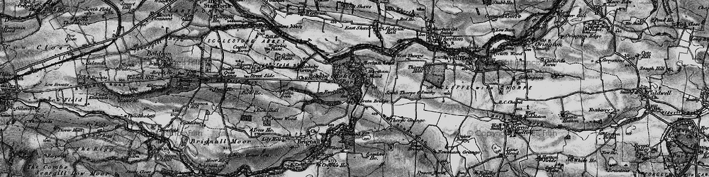 Old map of Rokeby Park in 1897