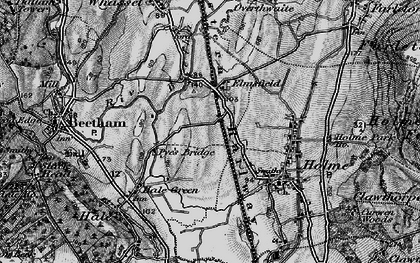 Old map of Limestone Link in 1898
