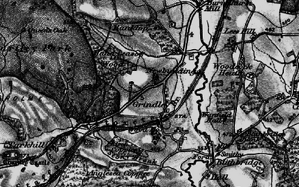 Old map of Leese Hill in 1897