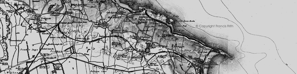 Old map of Gristhorpe in 1898