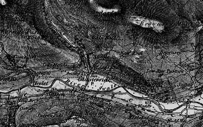 Old map of Barf End in 1897
