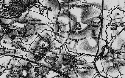 Old map of Leper Ho in 1899
