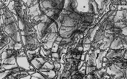 Old map of Gwavas in 1895