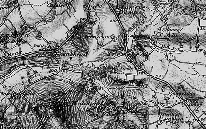 Old map of Gwedna in 1895