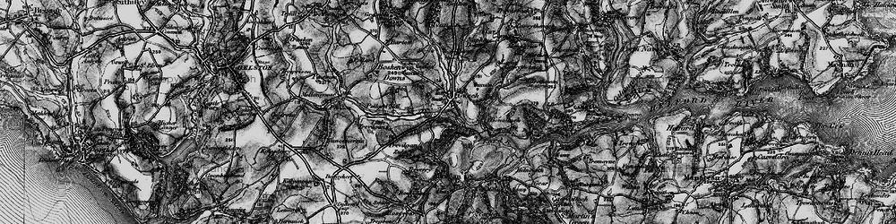 Old map of Tolvan Cross in 1895