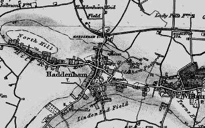 Old map of Linden End Field in 1898