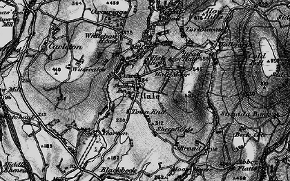 Old map of Whitehow Head in 1897