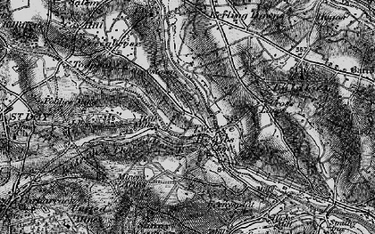 Old map of Hale Mills in 1895