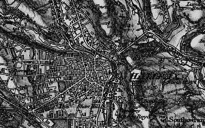 Old map of Halifax in 1896