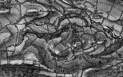 Old map of Tom Hill in 1896