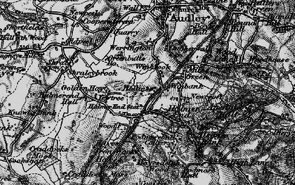 Old map of Wynbrook in 1897
