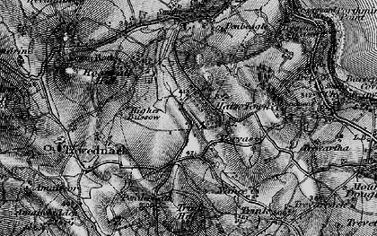 Old map of Halsetown in 1896