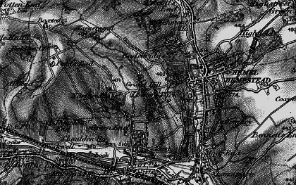 Old map of Hammerfield in 1896