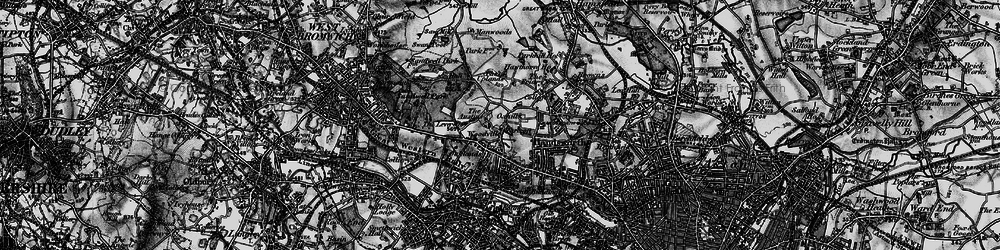 Old map of Handsworth in 1899