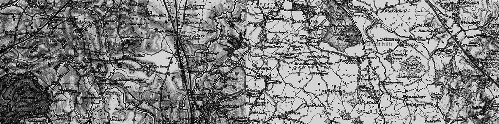 Old map of Woolfall in 1897