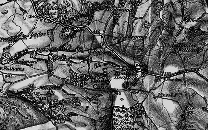 Old map of Woodbank Hill in 1899