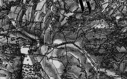 Old map of Lea Green in 1899