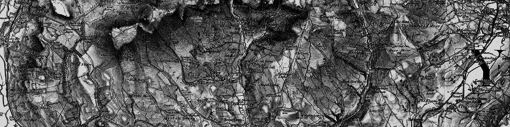 Old map of Winterburn Moor in 1898