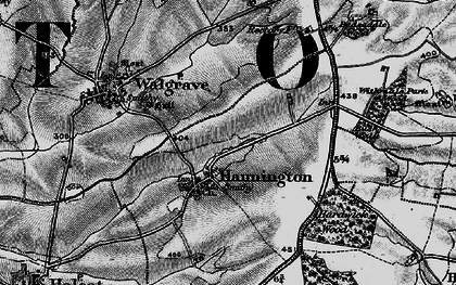 Old map of Badsaddle Wood in 1898