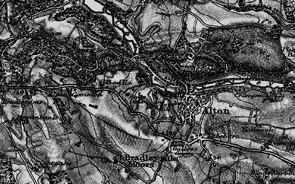 Old map of Alton Common in 1897