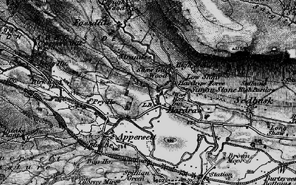 Old map of Hardraw in 1897
