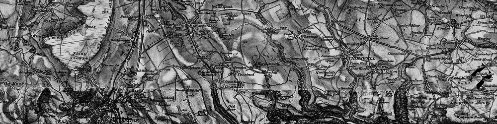 Old map of Wind Low in 1896