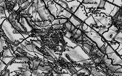 Old map of Woodford Br in 1899