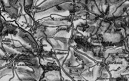 Old map of Hatt in 1896