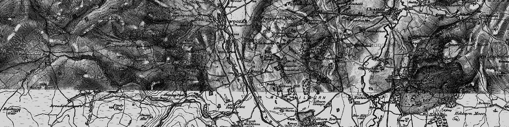 Old map of Lilburn Hill in 1897