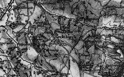 Old map of Wyld Court in 1898