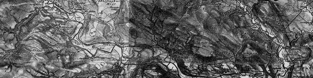 Old map of Wind Hill in 1897