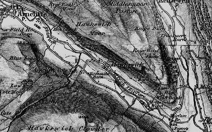 Old map of Wharfedale in 1897