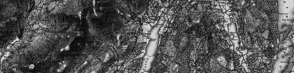Old map of Thurston in 1897